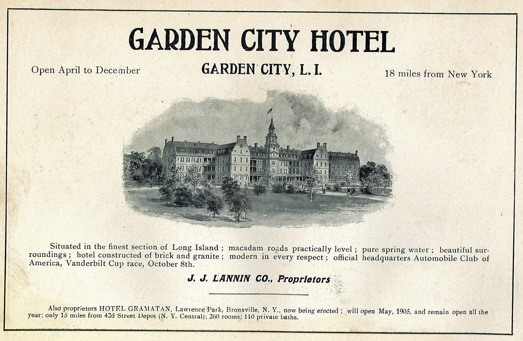 Vanderbilt Cup Races Blog Then Now The Garden City Hotel