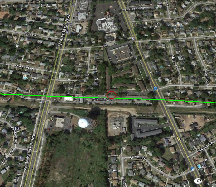 Meadowbrook Station Apartments: The Motor Parkway Toll