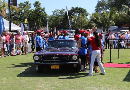 Vanderbilt Cup Races Blog Mustang III Concept Show Car - Boca raton car show