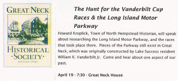Vanderbilt cup races blog thursday s treasures krug s for Hotels on motor parkway long island