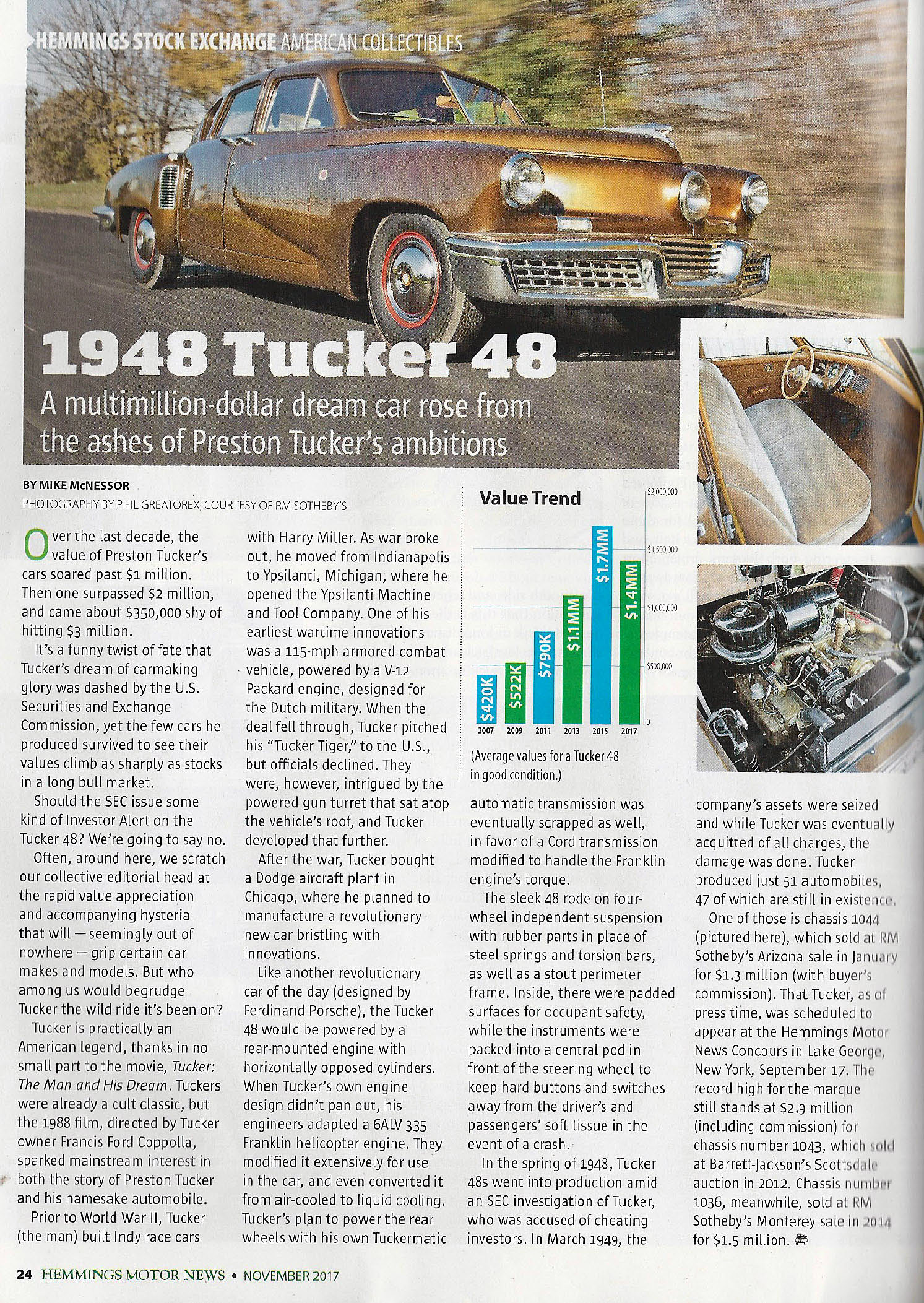 Vanderbilt Cup Races - Blog - Hemmings Motor News: Tucker 1044 ...