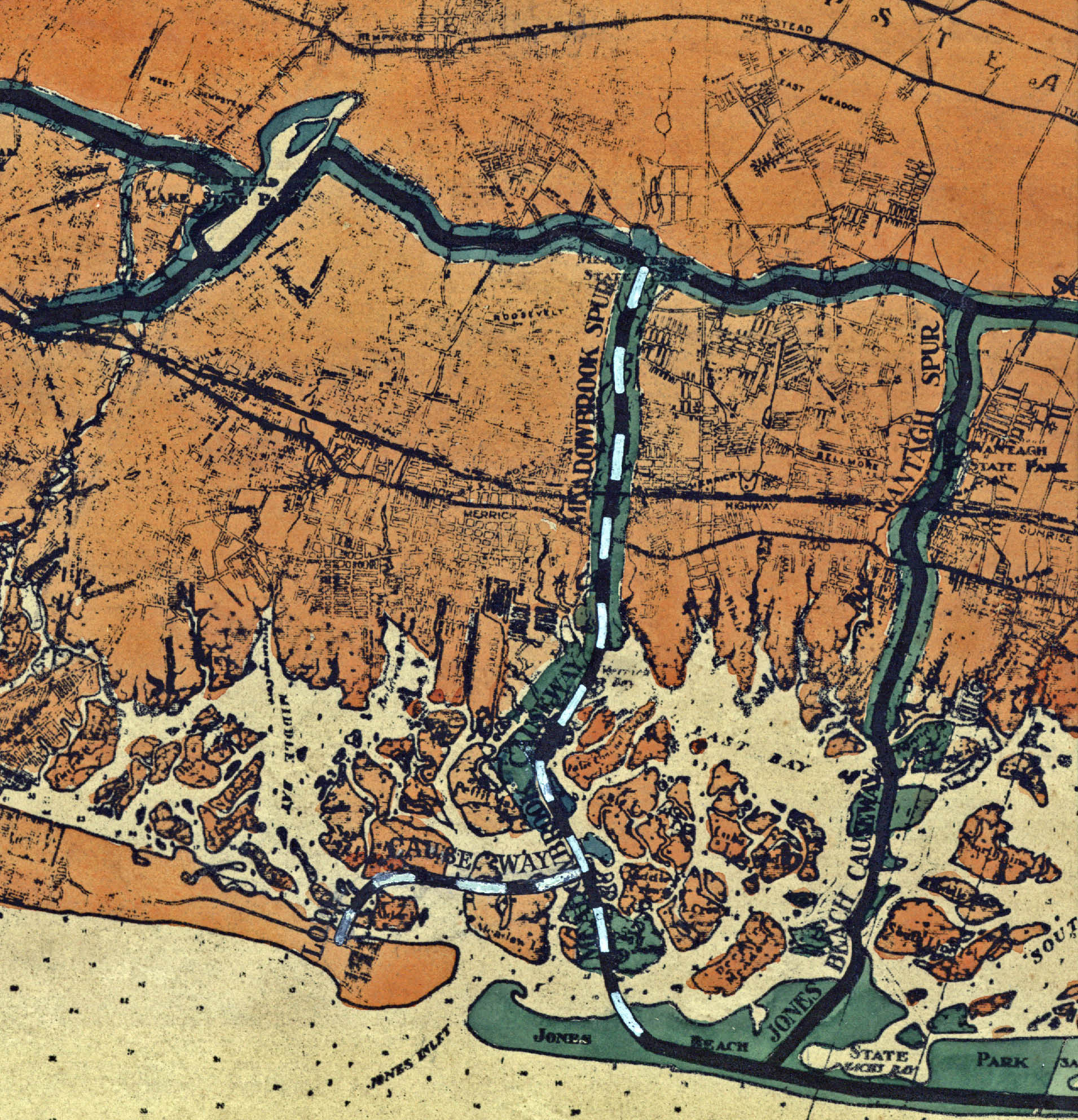 Vanderbilt Cup Races - Blog - Robert Moses\' 1931 Planning Map for ...