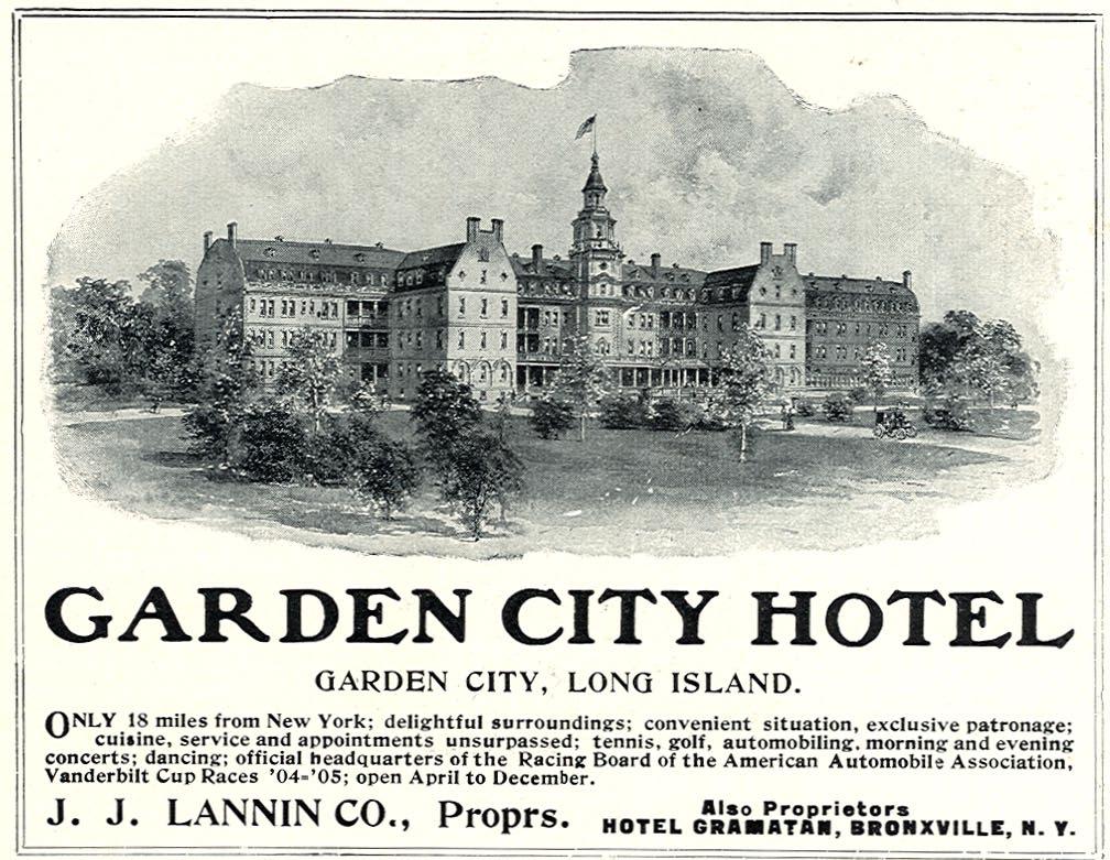 Ad In The 1906 Vanderbilt Cup Race Program.