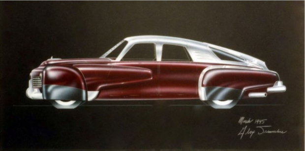 1c4afeaa04 Daniel Strohl of Hemmings has posted an article on the early designs that  inspired the Tucker automobile.