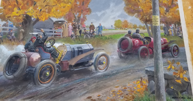 Vanderbilt Cup Races Blog Mystery Painting 4 Solved