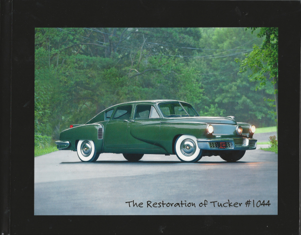 Limited Edition: U201cThe Restoration Of Tucker 1044u201d Hardbound Coffee Table  Book