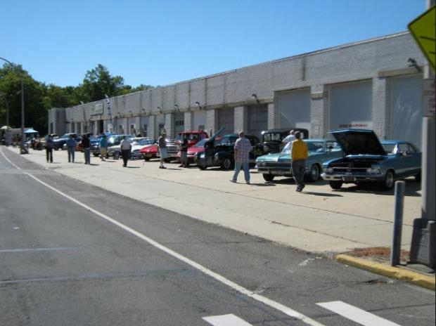 Vanderbilt Cup Races Autoseum Open House Vehicle Display Garden City Ny