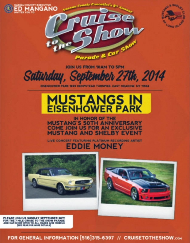 Vanderbilt Cup Races Mustangs In The Park Eisenhower Park East - Eisenhower park car show