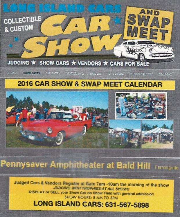local car show and swap meet ny