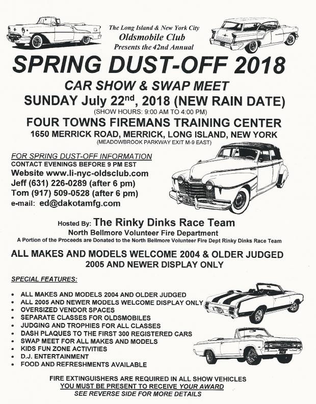 Vanderbilt Cup Races - LI/NYC Oldsmobile Club Spring Dust-Off Car
