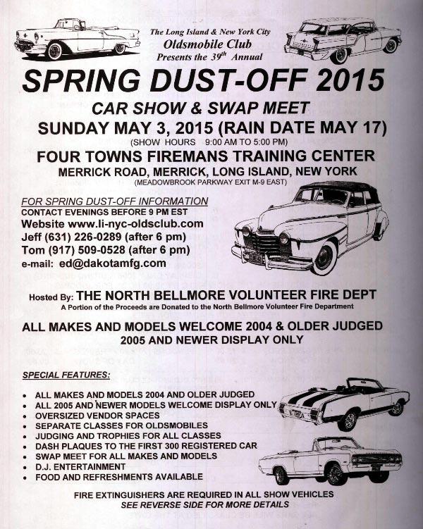 Vanderbilt Cup Races The Th Annual Spring DustOff Car Show - Car show dash plaque display