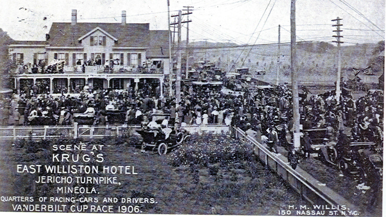 Krug S East Williston Hotel Les And Automobile Garage Mineola New York