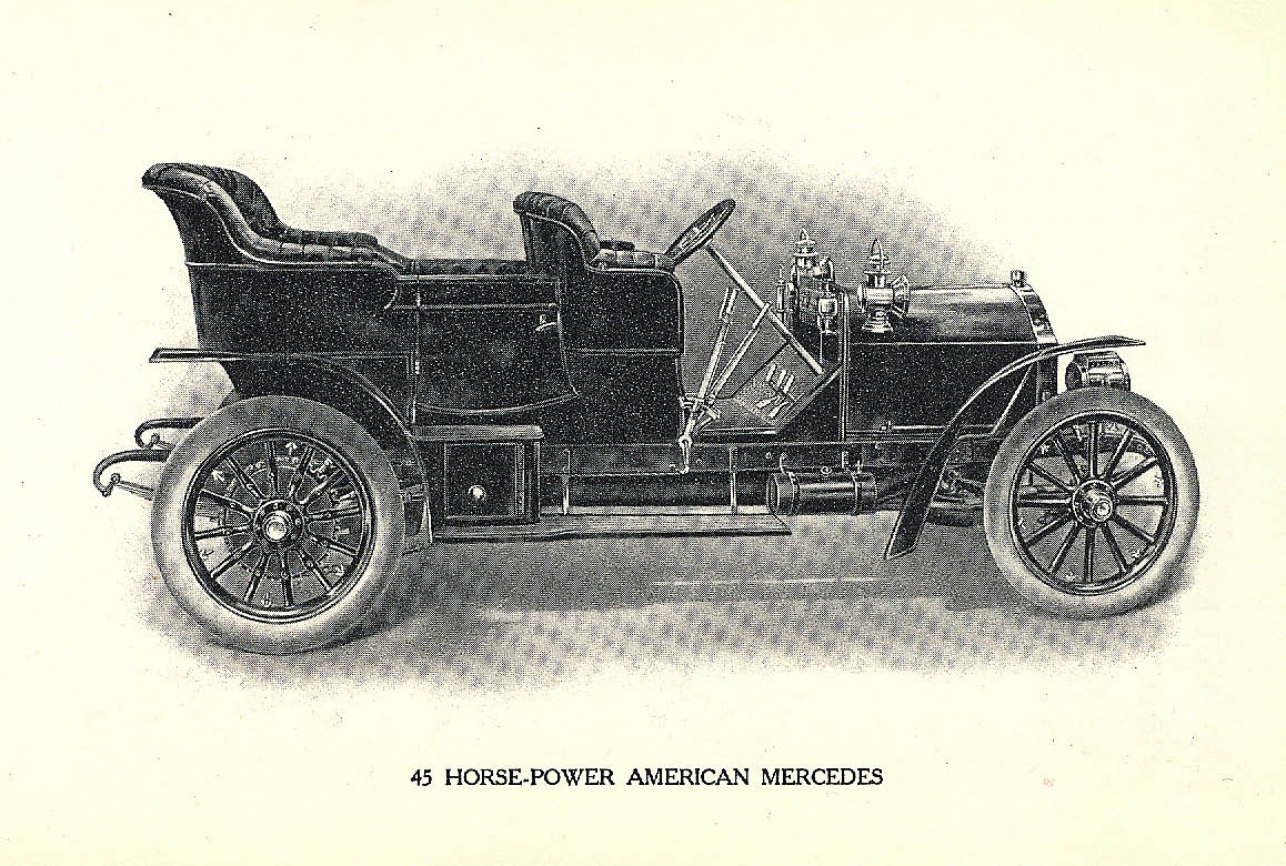 Vanderbilt Cup Races - Blog - A 1906 Brochure for the American Mercedes