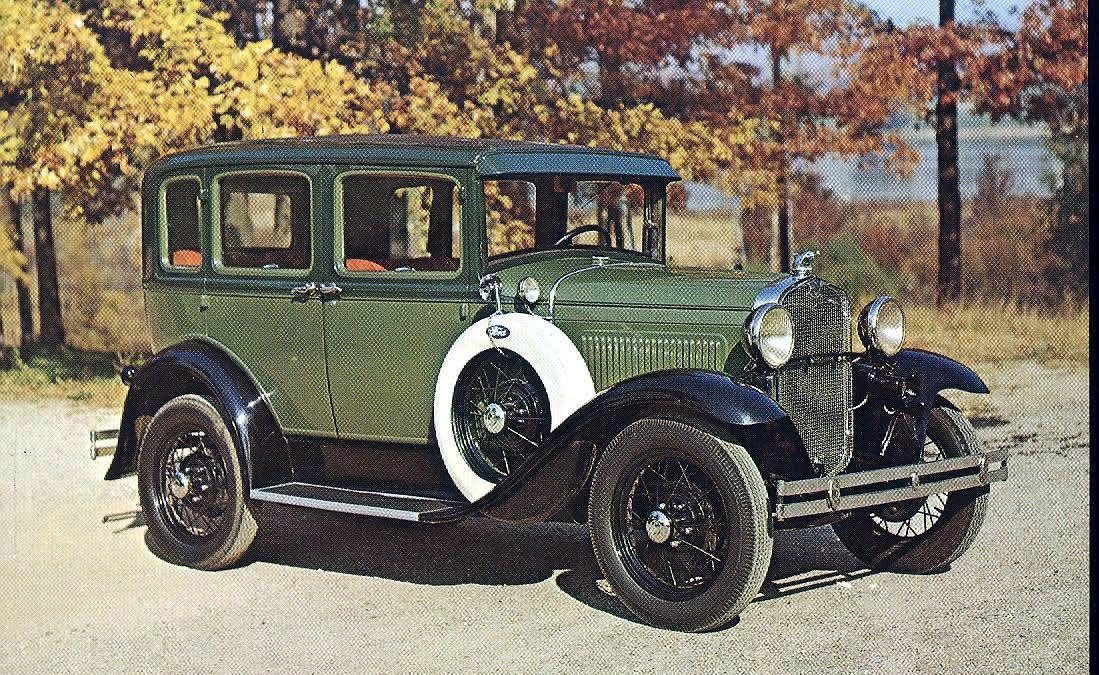 1931 Ford Model A Deluxe Town Sedan & Vanderbilt Cup Races - Blog - Postcards from the Long Island ... markmcfarlin.com