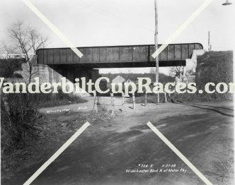 Winchester Boulevard LIMP Bridge 11-27-1928
