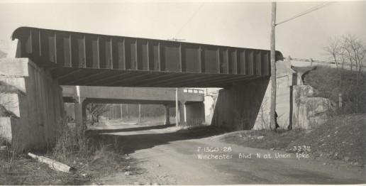 Winchester Boulevard LIMP Bridges 3-3-1932